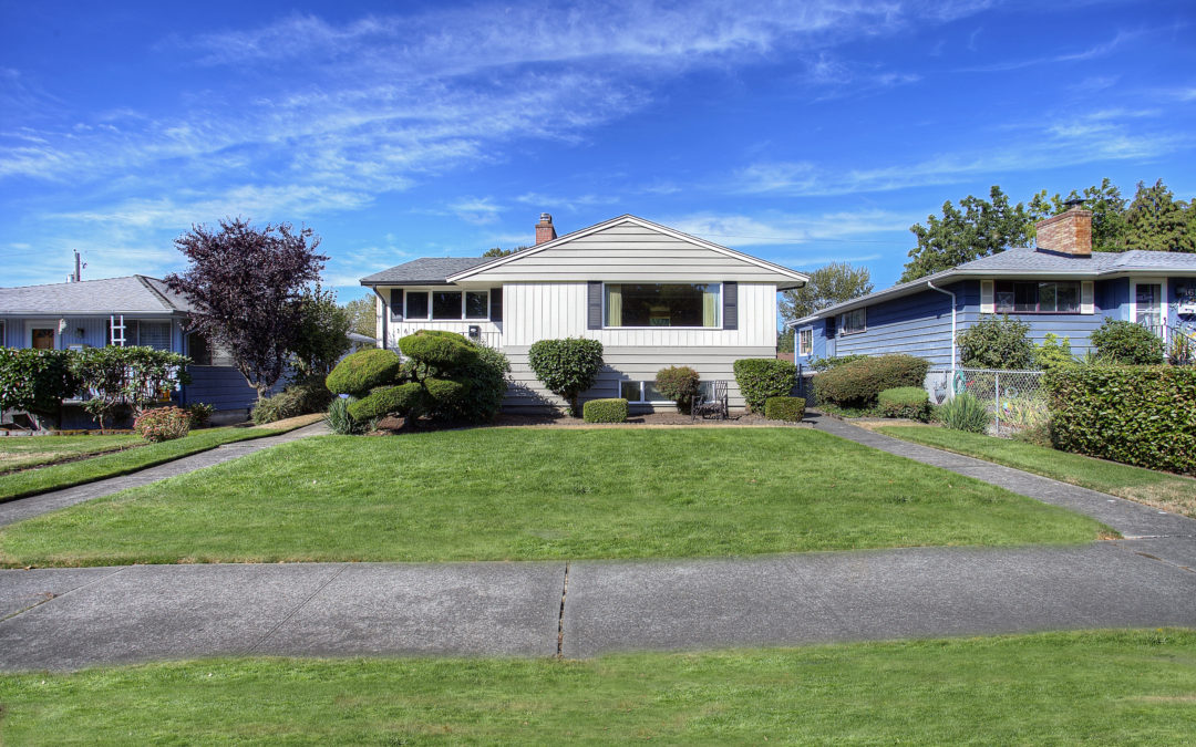 SOLD! Tacoma Home – Rambler w/ Basement