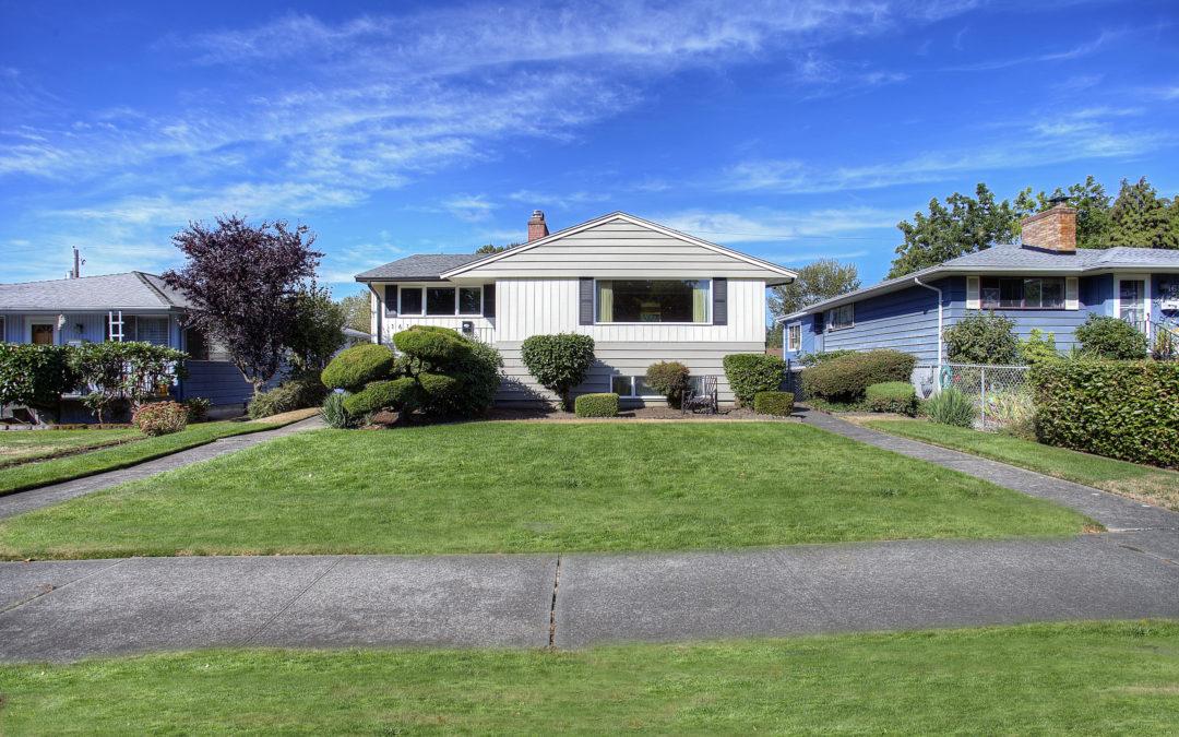 SOLD! Tacoma Home – Rambler w/ Basement
