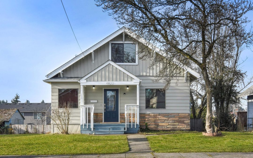 Renovated Craftsman Home in South Tacoma