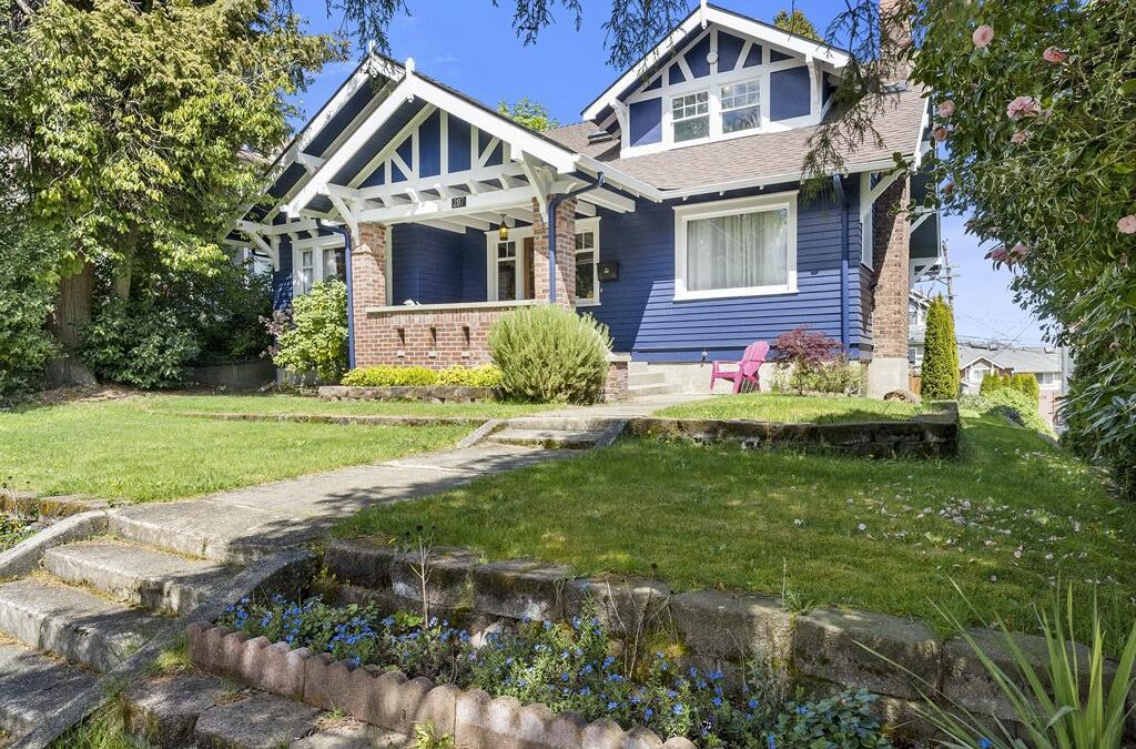 Craftsman Home, Zoned RCX in Stadium District Tacoma