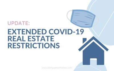 Update: Real Estate Restrictions + Covid Relief Bill