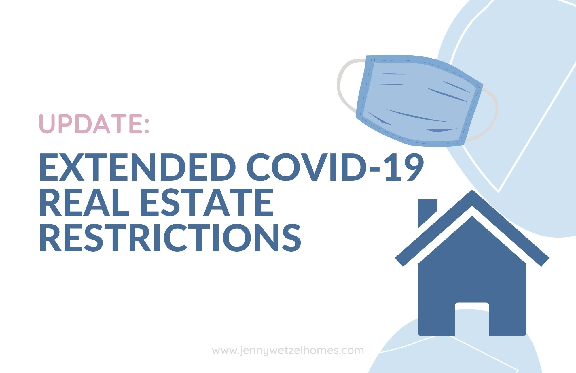 current Washington state real estate restrictions and guidelines