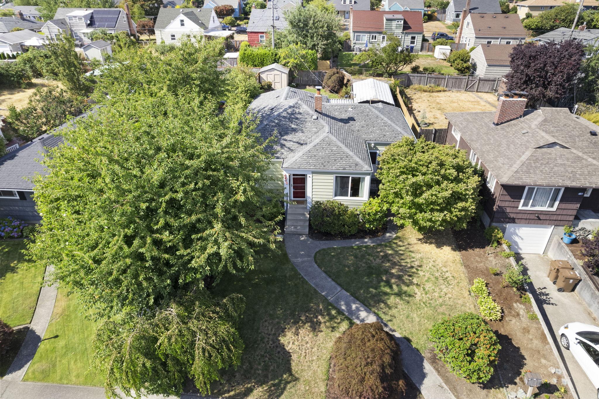 single level bungalow